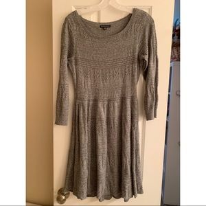 American Eagle Grey Sweater Dress Large and Lined
